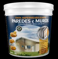Tinta Impermeabilizante Paredes e Muros