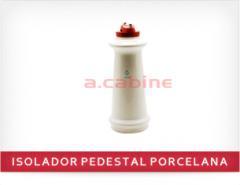 Isolador pedestal porcelana 1 KV com prensa fio