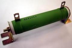 Resistor tubular com suporte de alto isolação