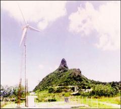 Geração de energia elétrica com a ação do vento