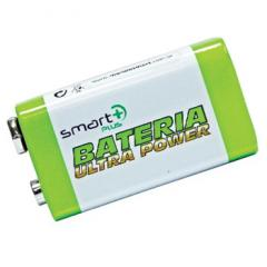 Bateria 9V Smart + Plus Ultra Power