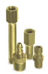Conexões metálicas / resina