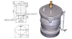 Válvula Recuperadora de Vapor com Rosca BSP