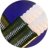 Tubo Corrugado em PTFE com Reforço