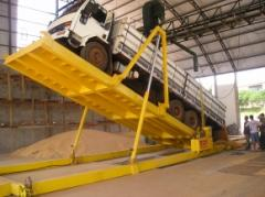 Tombador 10 metros para truck - movel/fixo