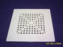 Grelha PVC Quadrada