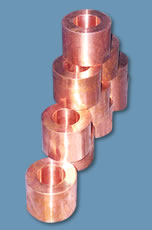 Buchas centrifugadas em bronze