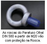 Parafuso Olhal DIN 580