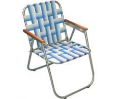 Cadeira: Dobrável e galvanizada