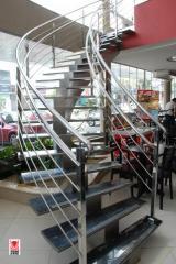 Escadas inox