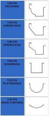 Calha Moldura