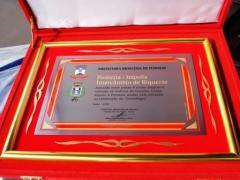Diplomas de Honra ao Mérito