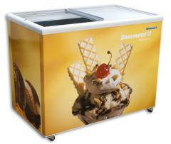 Freezer Horizontal Porta de Vidro DHW 300