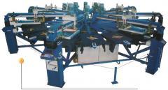 Máquina automática de estampar tipo carrossel (modelo P-116)