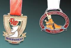 Medalha fundida