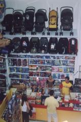 Estantes para brinquedos