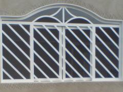 Grelhas para janelas em aço