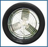 Ventilador Industrial Axial de Parede