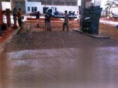 Pisos de concreto para armazem