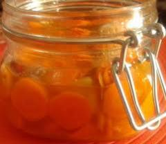 Cenoura em vinagre