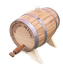 Barrilete de Carvalho Europeu - 2,5 litros