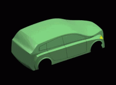 Peças estruturais de automovel