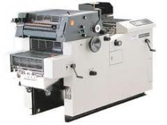 Máquinas de impressão offset