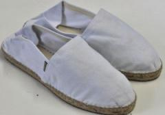 Alpargatas brancoa