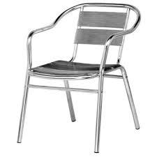 Cadeira aluminio chap