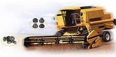 Componentes para colheitadeiras