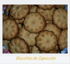 Biscoito Algo Cappuchino