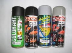 Automóvel tinta spray