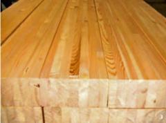 Barra de madeira