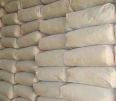 Cimento em sacos