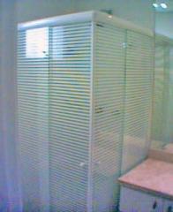 Box para banheiro em vidro temperado e jateado