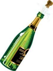 Garrafa para champanha