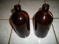 Frascos de vidro farmaceuticos