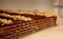 Torta de waffle