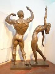 Esculturas em cobre