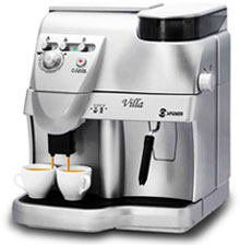 Máquina italiana de café espresso