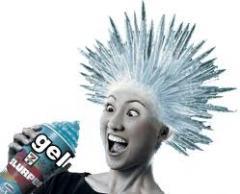 Gel para o cabelo