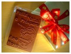 Tabletes de chocolate personalizados