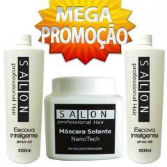 Escova progressiva marroquina profissional hair