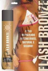 Flash bronze spray