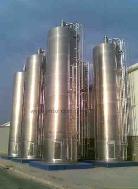 Silos de alumínio