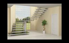 Escada em u