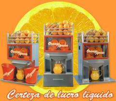 Máquina extratora automática de suco de laranja