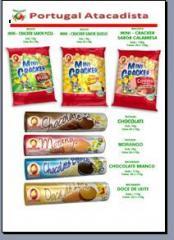 Biscoitos Recheados Canários