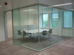 Divisorias em vidro