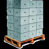 Caixa Terra em Concreto com Tampa - 0,30X0,30m